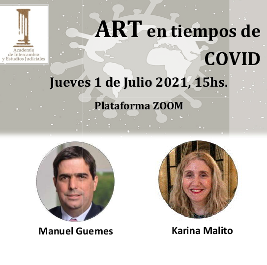 Jornada sobre ART en tiempos de Covid