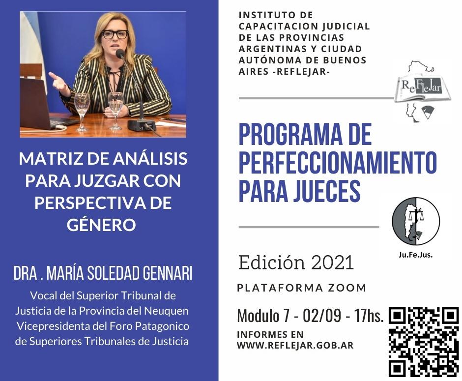 Jornada de perfeccionamiento para jueces y juezas